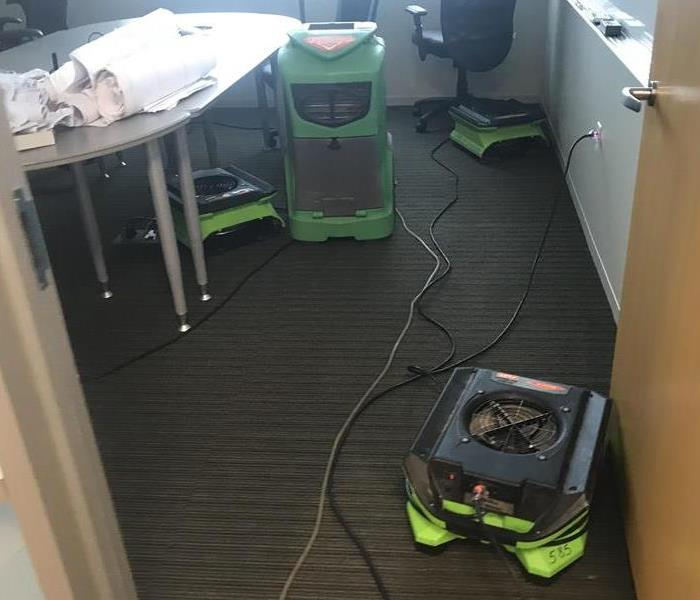 Large Commercial Water Damage After