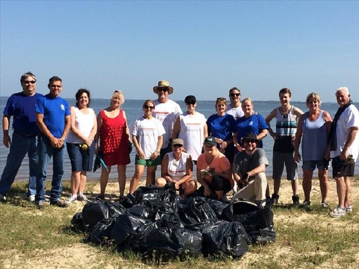 Texoma Lake Cleanup
